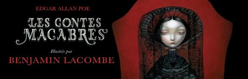 Rencontre avec Benjamin Lacombe – Auteur des Contes Macabres