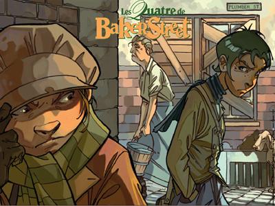 Les Quatre de Baker Street (T1)