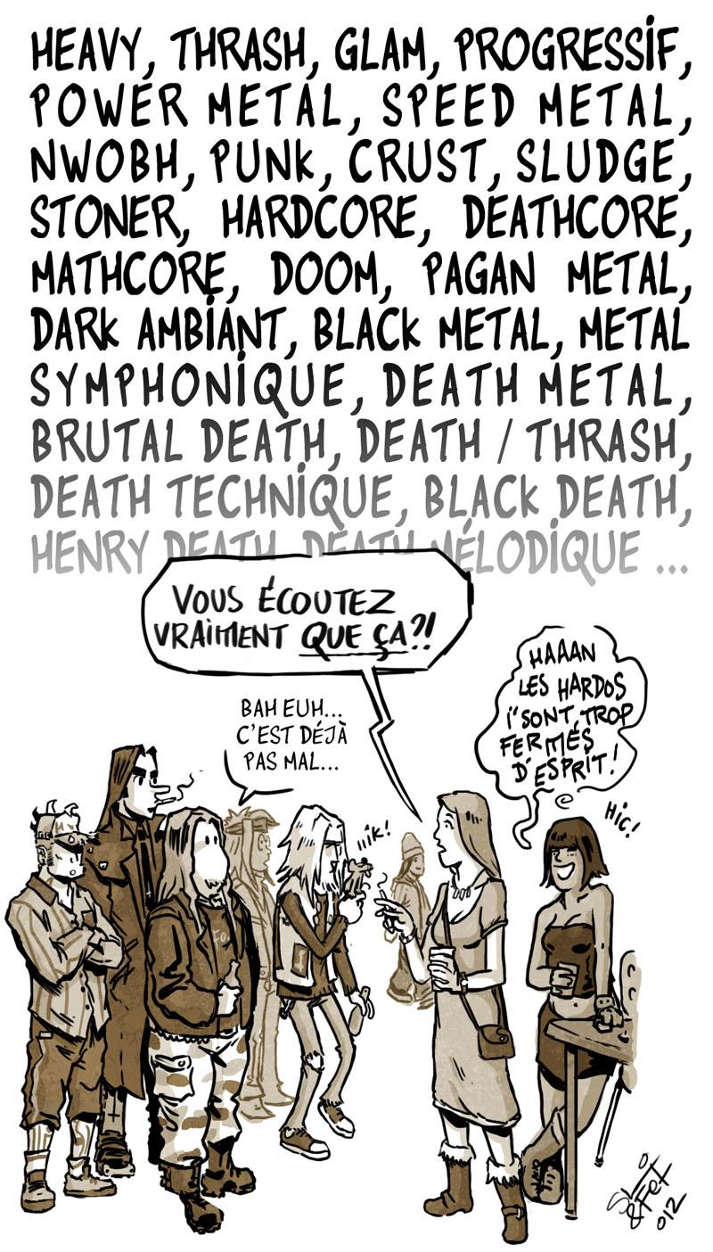 Site de rencontre musique metal