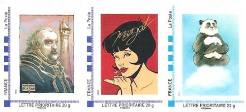 Pré-commandes des timbres de juillet, août et septembre de la collection 2012