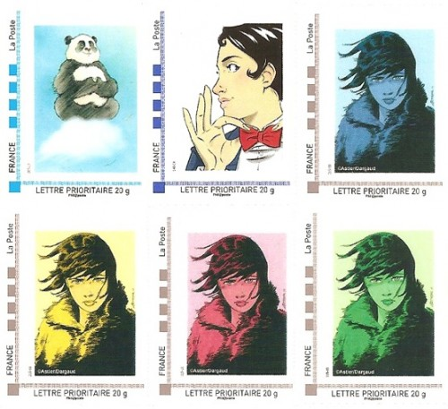 Pré-commandes des timbres septembre, octobre et novembre de la collection 2012