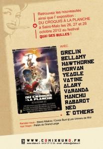 Comix Buro à Quai des Bulles 2012