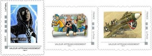 Commandes des timbres de août, septembre et octobre de la collection 2013