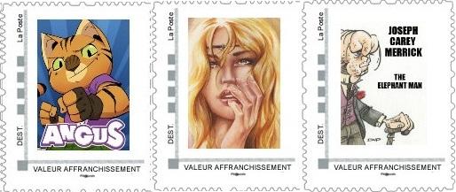 Commandes des timbres d'avril, mai et juin 2013