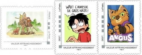 Commandes des timbres de février, mars et avril de la collection 2013
