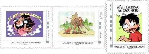 Commandes des timbres de janvier, février et mars de la collection 2013