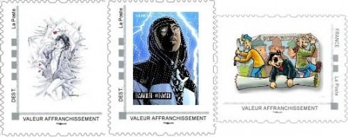 Commandes des timbres de juillet, août et septembre de la collection 2013