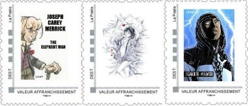 Commandes des timbres de juin, juillet et août de la collection 2013