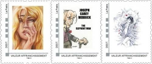 Pré-commandes des timbres de mai, juin et juillet de la collection 2013
