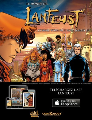 Une application Lanfeust disponible sur comiXology