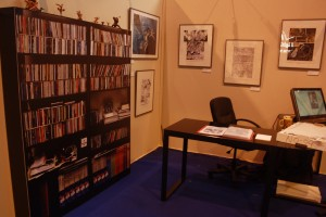 Visite prive des expositions du Salon du Livre de Paris