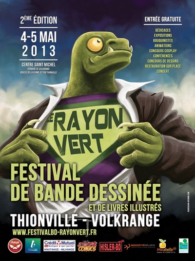 Le Rayon Vert s&rsquo;allumera les 4 et 5 mai 2013