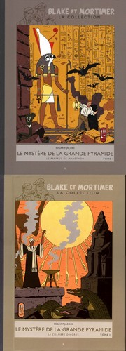 Blake et Mortimer &#8211; La Collection T4 &amp; T5 (Jacobs, Daniels) &#8211; Hachette &#8211; 12,99