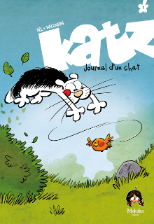 Katz – Journal d'un chat T1 (Del, Dairin) – Makaka – 15€
