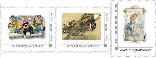 Pré-commandes des timbres de septembre, octobre et novembre de la collection 2013