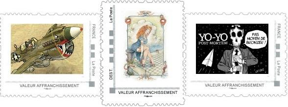 Pré-commandes des timbres d'octobre, novembre et décembre de la collection 2013