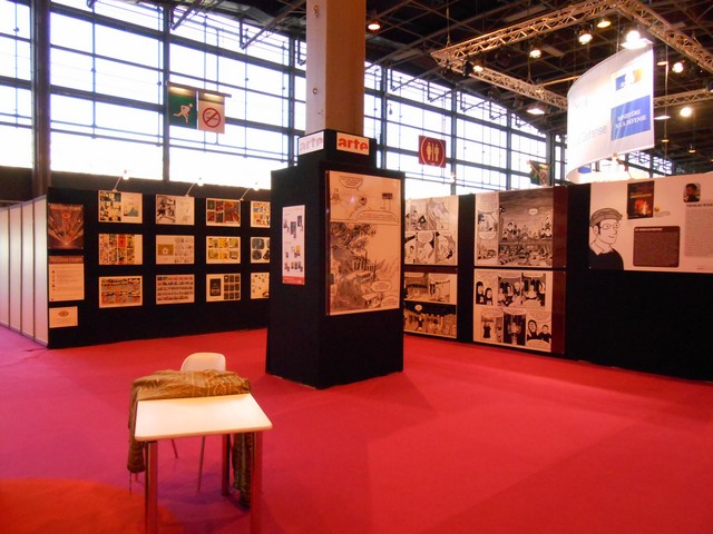 Le Salon du Livre de Paris 2014