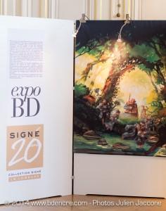 Prix Espoirs 9e Art – Ouverture Expo BD 20 Ans de la Collection Signé – Le Lombard Versailles