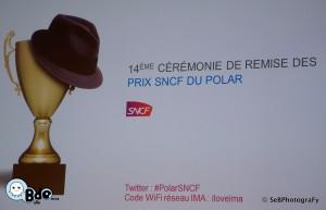 Bulle d'Encre à la remise des prix Polar SNCF
