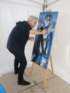 Rencontre avec Fred Ian – peintre