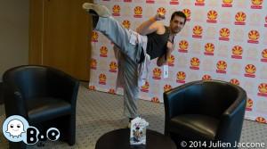 Japan Expo 2014 – Rencontre avec Michael Almodovar, auteur des Torches d'Arkylon