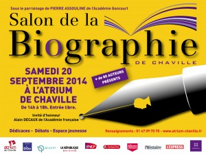 Salon de la biographie de Chaville