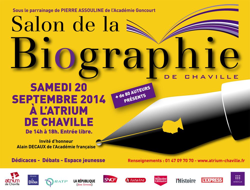 Salon de la biographie de chaville bulle d 39 encre l for Salon de la bd colomiers