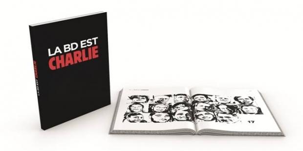 La BD est Charlie, un recueil pour la liberté d'expression