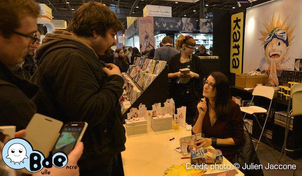 Rencontre avec Elsa Brants (Salon du livre de Paris 2015)