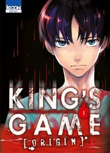 King's Game Origin T1 (Yamada/Kanazawa) – Ki-oon – 7,65€