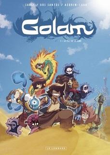 Golam T1 (Azorin-Lara, Dos Santos, Sauge, Minte) – Le Lombard – 10,60€