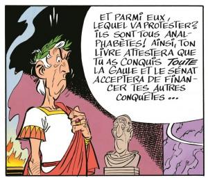 Visuel César - Le papyrus de César