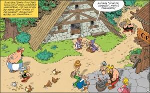 Visuel Le village- Le papyrus de César
