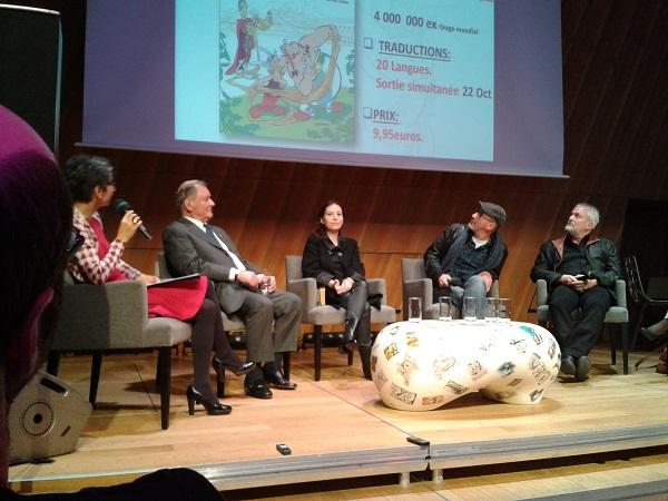 Conférence de presse – Le Papyrus de César : 12 octobre 2015