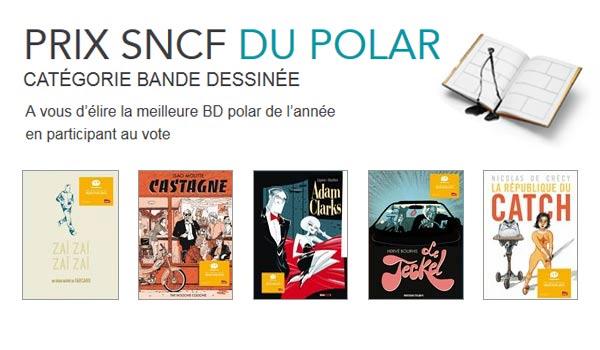 Résultats concours Prix du Polar SNCF