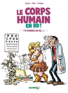 Le corps humain en BD