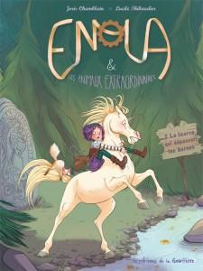 Enola T2 (Chamblain, Thinaudier) – Les éditions de la Gouttière – 10,70€