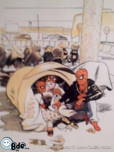 Spiderman Migrant