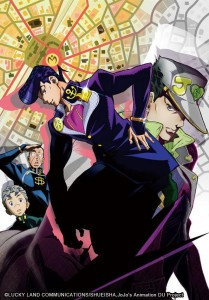 Jojo's Bizarre Adventure – Diamond is unbreakable (Studio : David Production)
