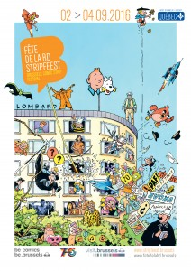 7ème Fête de la BD à Bruxelles