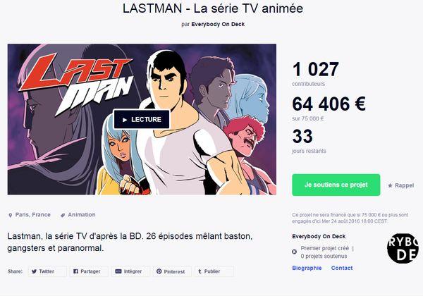 Un crowdfunding pour l'anim' de Lastman