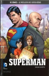 DC Comics – Le meilleur des Super-héros T13 – Superman – origines secrètes (Johns, Frank) – Eaglemoss – 12,99€