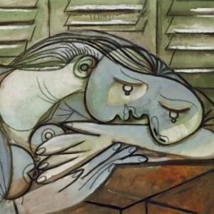 Dormeuse aux persiennnes / Picasso