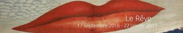 «Le Rêve» – Musée Cantini (Marseille) – Exposition du 17 septembre 2016 au 22 janvier 2017