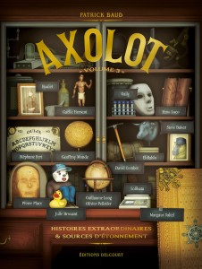 Axolot T3 (Baud, collectif) – Delcourt – 19,99€
