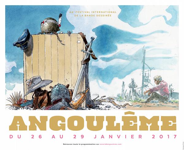 Angoulême 2017 : la sélection 2017