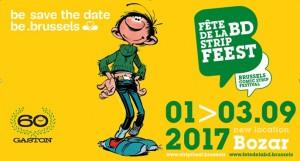 8ème Fête de la BD de Bruxelles du 1er au 3 septembre 2017 – Prix Atomium de la Bande dessinée