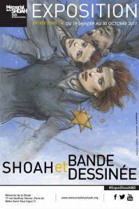 Exposition Shoah et Bande dessinée – Mémorial de la Shoah (Musée et centre de Documentation) – du 19 janvier au 30 octobre 2017