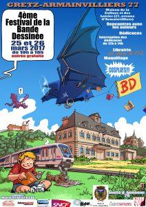 Festival BD de Gretz-Armainvilliers (Seine-et-Marne) – 25 et 26 mars 2017