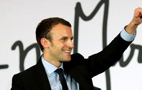 La BD s'invite dans la campagne présidentielle – Emmanuel Macron